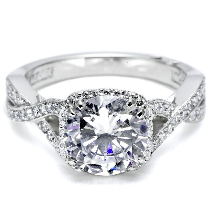 twist engagement ring jewelery