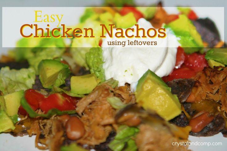 Chicken Nachos | Mexican Dishes | Pinterest