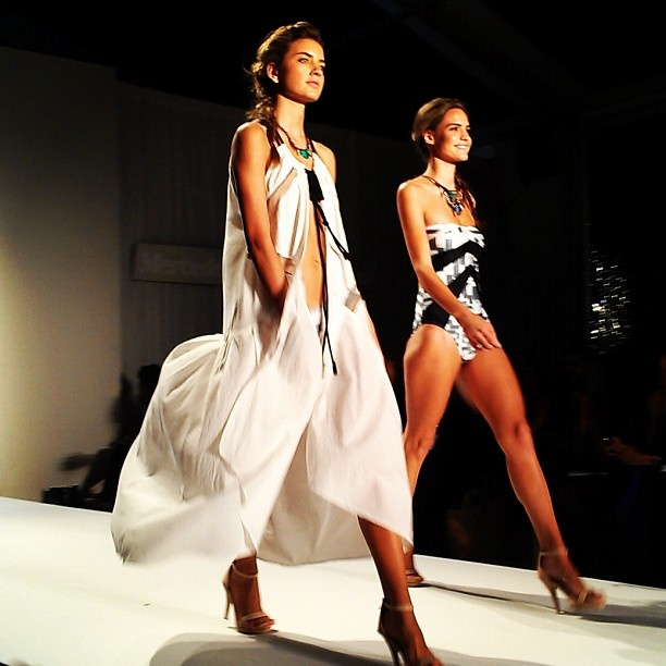 Suboo Swim collection at Mercedes-Benz Fashion Week Swim 2013 in Miami, Florida on July 22