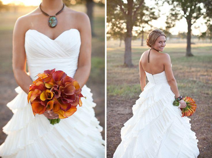 Purple Backyard Wedding :  Purple Backyard Wedding  Every Last Detail)  weddings  orange