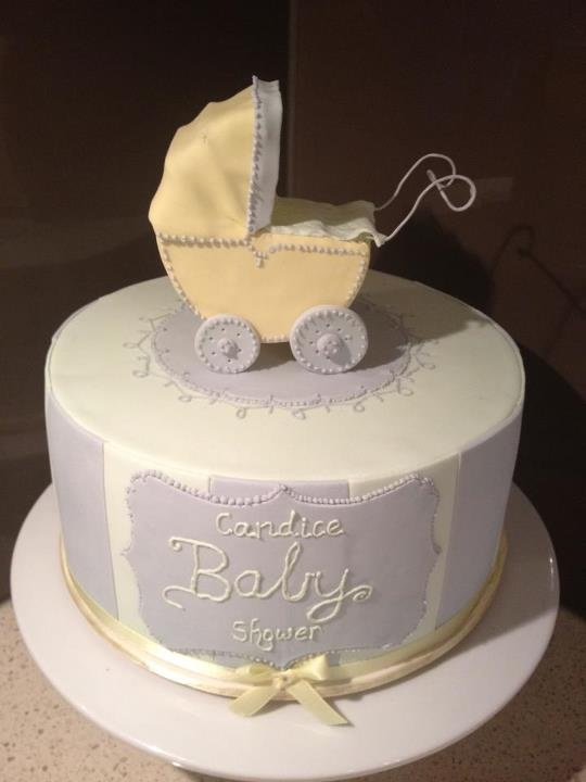 vintage pram baby shower cake party decore cakes and more