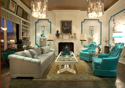 Hollywood glam living room interior decorating pinterest for Hollywood glam living room ideas