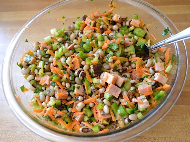 Spicy hoppin' john salad | Recipe