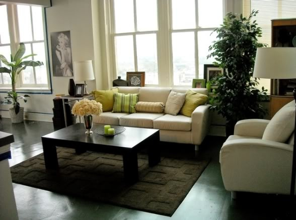Cream beige and green living room living room pinterest - Tan and green living room ...