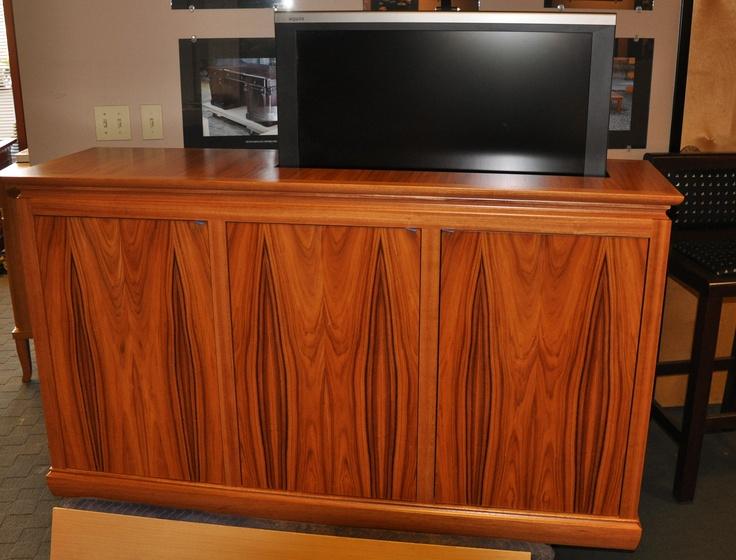 pop up rosewood tv cabinet manion company pinterest. Black Bedroom Furniture Sets. Home Design Ideas