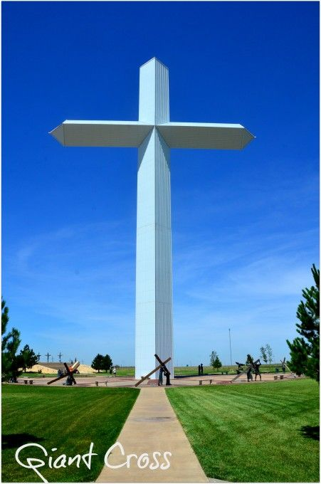 Giant Cross, Groom, TX