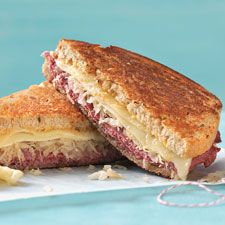 Reuben Panini. This traditional Reuben-on-rye hot grilled sandwich ...
