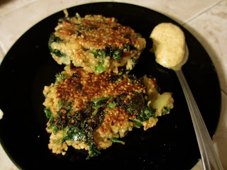 Kale and Quinoa Cakes | Recipes | Pinterest