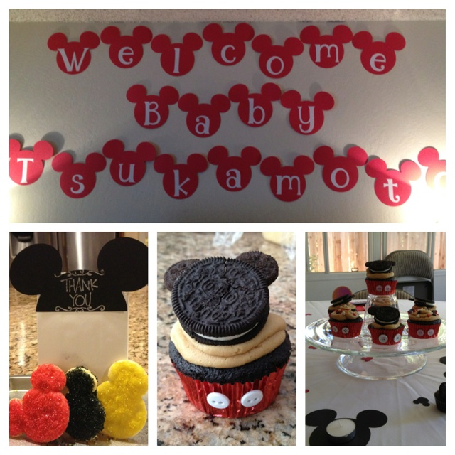 mickey mouse baby shower baby shower stuff