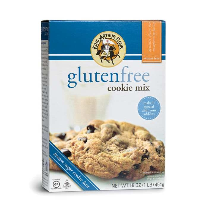 King Arthur Gluten-Free Cookie Mix - add mini chocolate chips. They ...