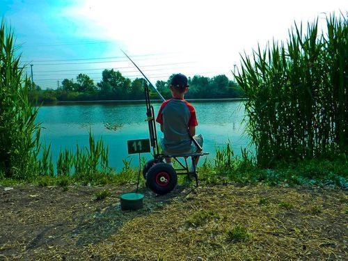 Little boy fishing fishing pinterest for Little boy fishing