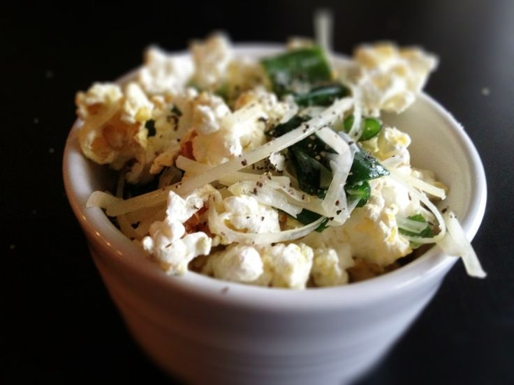 Truffle Popcorn-Have never make something like this with popcorn ...