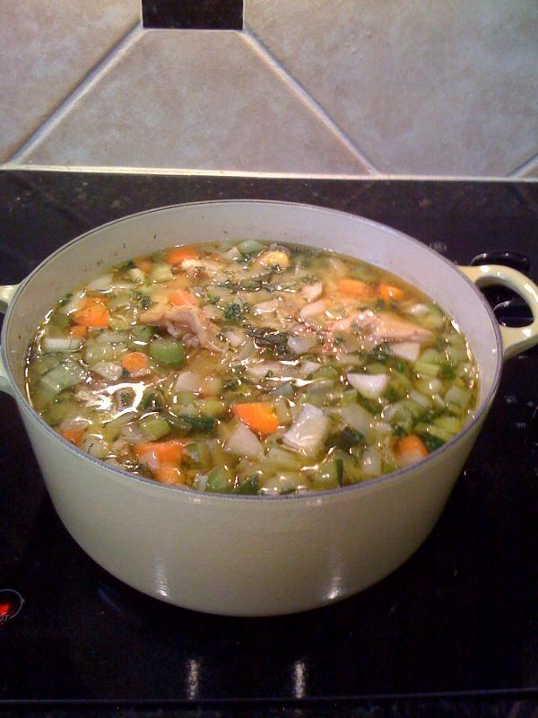 Chicken Vegetable Soup – Easy Recipe | Yummies in My Tummy ...