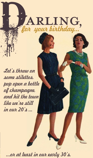 Funny Retro Birthday Wishes ~ Darling couldn t have said it betta myself pinterest