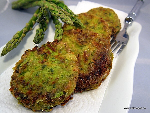asparagus fritters | food food and more food | Pinterest