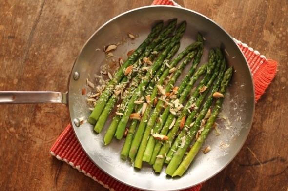 Asparagus Amandine | Eat, Drink and be Merry | Pinterest