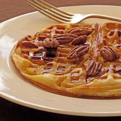 Waffle Maker Apple Tart Tatin