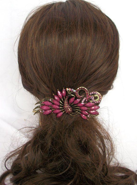 Vintage style Hair Clips /Hair Jaw /Hair Barrette /hair accessories ...