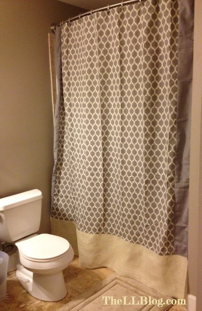 adding length to shower curtain projects for a rainy day