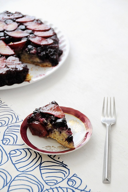 More like this: upside down cakes , plums and creature comforts .