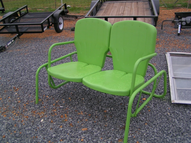 Vintage Metal Outdoor Chairs My Style