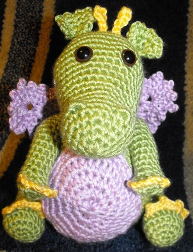 crochet dragon Knit and crochet Pinterest