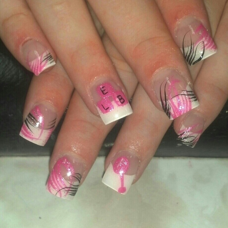 baby shower nails nailsss pinterest
