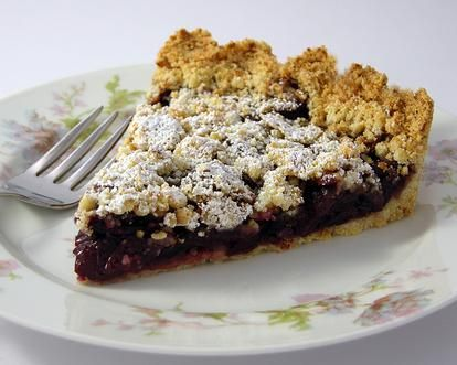 sour cherry pie cherry pie with almond coconut sour cherry almond pie ...