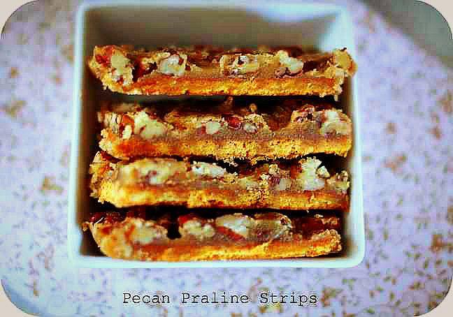 Pecan Praline Strips! from @Estela Schnelle (Weekly Bite)