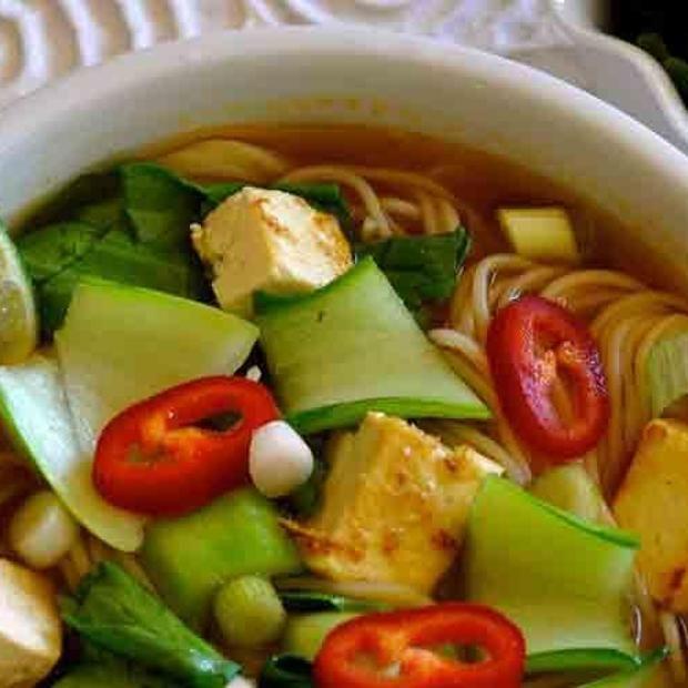 Vietnamese Vegan Pho Noodle Soup Recipe   Recipes Worth Trying (Soups ...