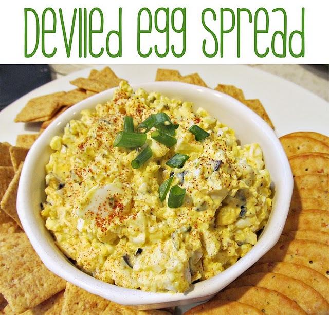 Deviled Egg Spread | yummy stuff! | Pinterest