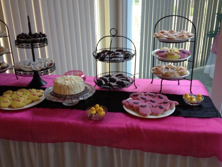 baby shower dessert bar tsc cupcakes pinterest