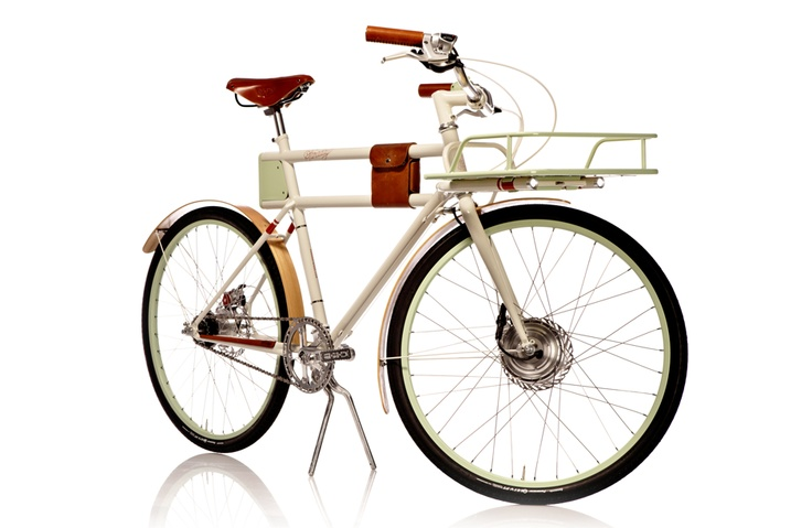 Though it doesn't look like it, the Faraday Porteur is an electric bicycle.