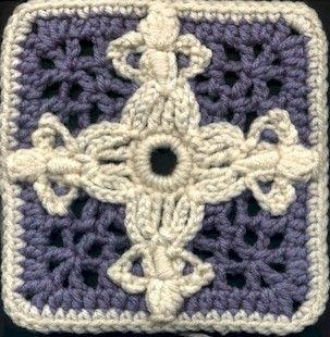 Crochet Around the World square Crochet: Granny Square ...
