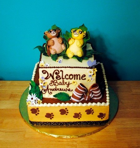 lion king baby shower cake i was thinking this for my comadre bby