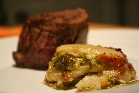 potato brussel sprout gratin | Things To Eat | Pinterest