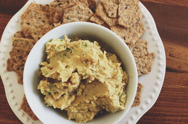 Jalapeno Lime Hummus | Vegetarian Eatin' | Pinterest