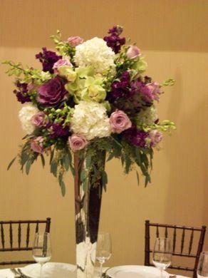 Boston Wedding Florist Table Centerpiece