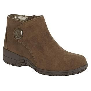 Basic Editions Women's Boot Fanny Wide Width - Olive