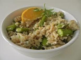 Crab and Asparagus Risotto | Recipe