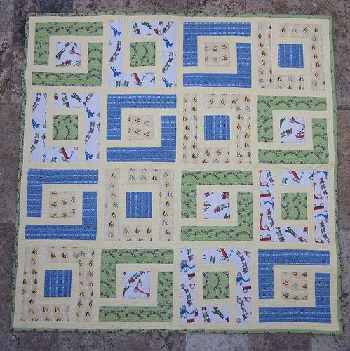 Found on quilterintheclosetblogspotcom Baby Boy Quilt Patterns For Beginners
