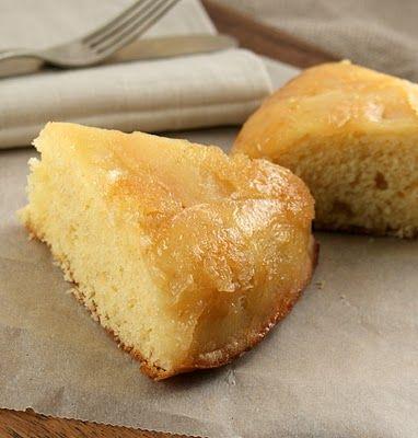 caramelized apple skillet cake