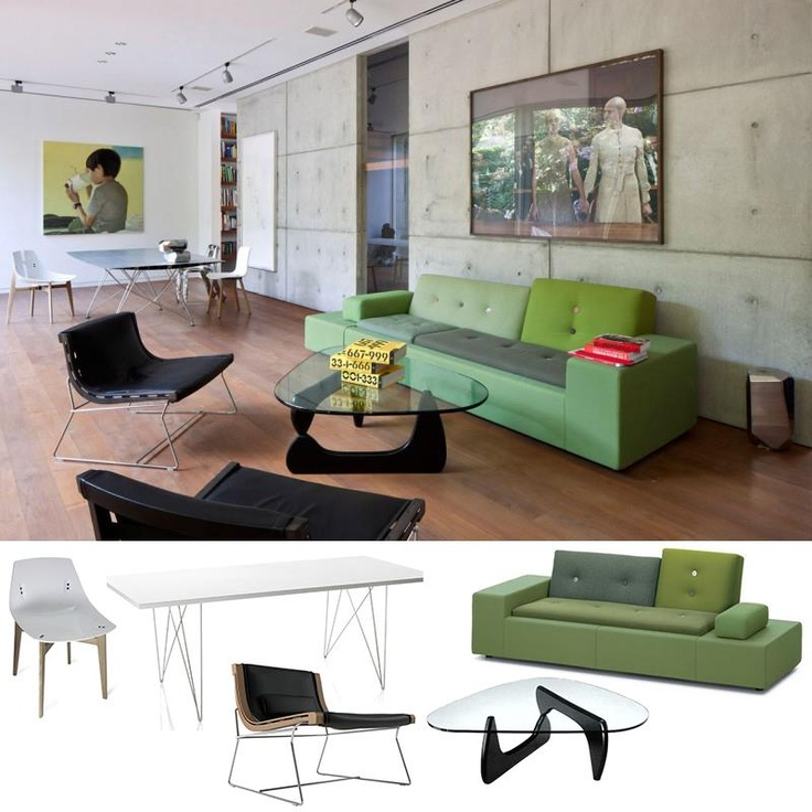 Green as accent furniture - Inside STV House by Arstidio - Arnon Nir Architecture. For more info on products click HERE: http://clippings.com/clippings/18395