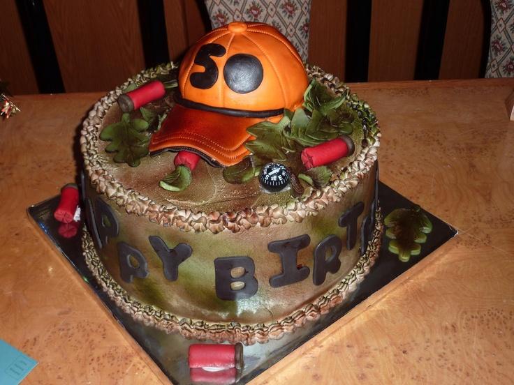 Hunters 50th Birthday cake Mark s 50th Pinterest