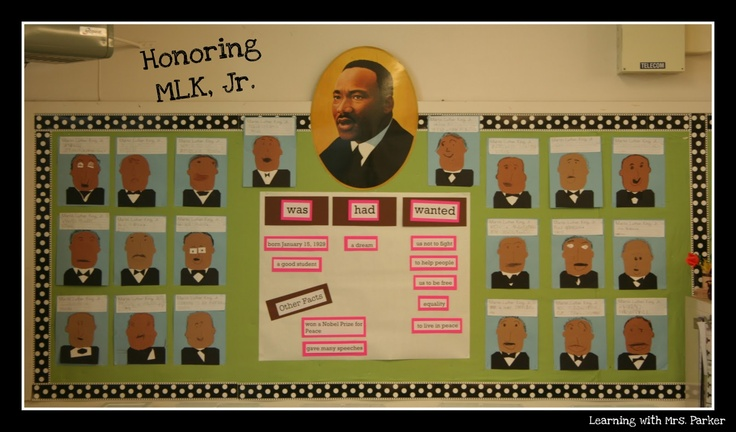Martin Luther King Jr. Bulletin Board | January Bulletin Boards | Pin ...