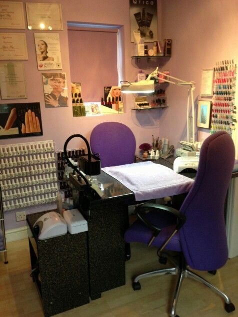 Nail room idea my passion nail salon ideas pinterest - My place salon de the ...