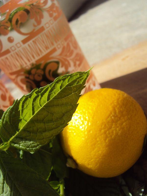 Lemon Basil Mojito | Fabulous Friday Drinks | Pinterest