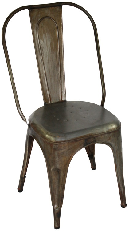 industrial metal dining chair home inspiration pinterest