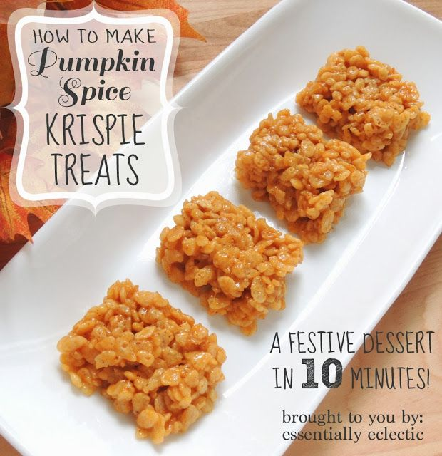 Pumpkin Spice Treats   {Reading List}