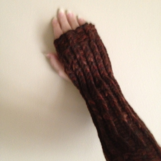Knit Arm Warmer Pattern : Loom knit arm warmers Knitting and Crocheting Pinterest